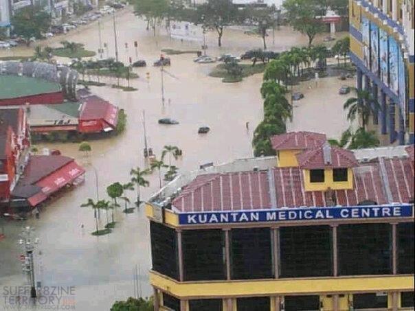 Gambar Sekitar Banjir Di Kuantan Pahang