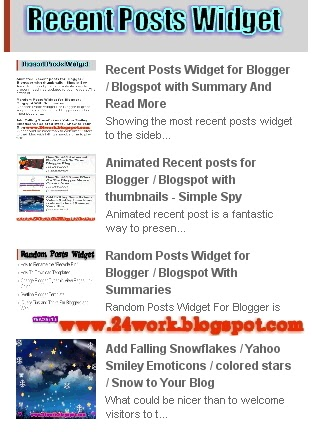 To acquire Recent stylish posts widget for blogger pictures trends