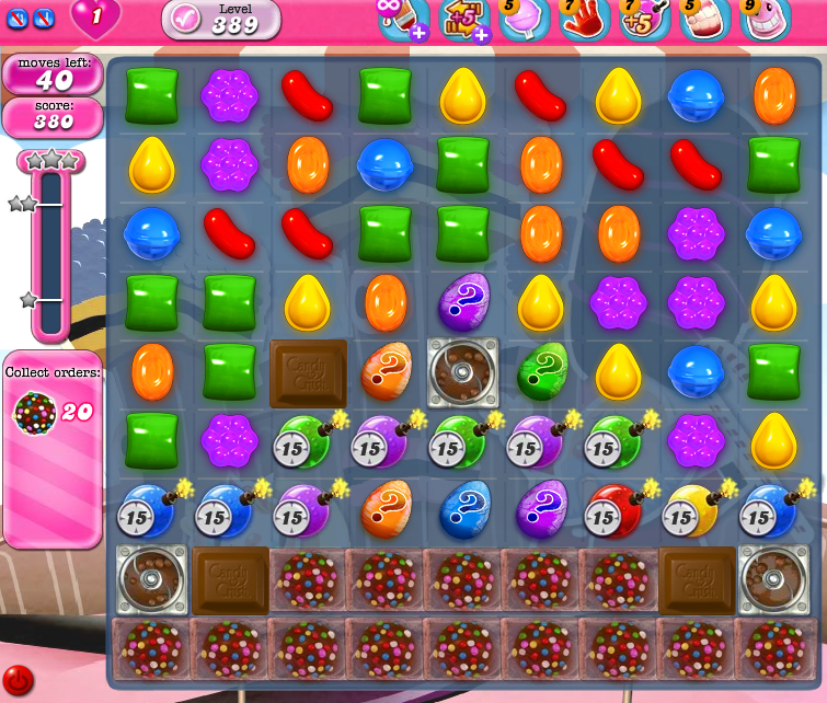 Candy Crush Saga 389