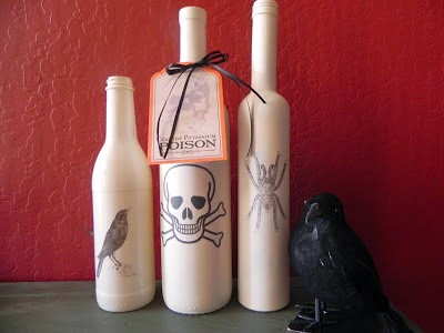 Ideas de Decoracion para Halloween con Materiales Reciclados