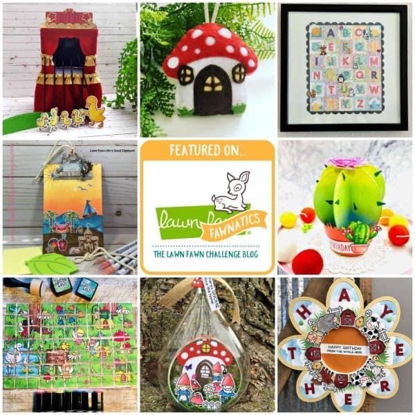 Featured Artist on Lawn Fawnatics Challenge blog  (May 19, 2020)
