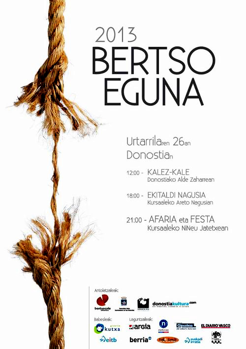 Bertso eguna 2013