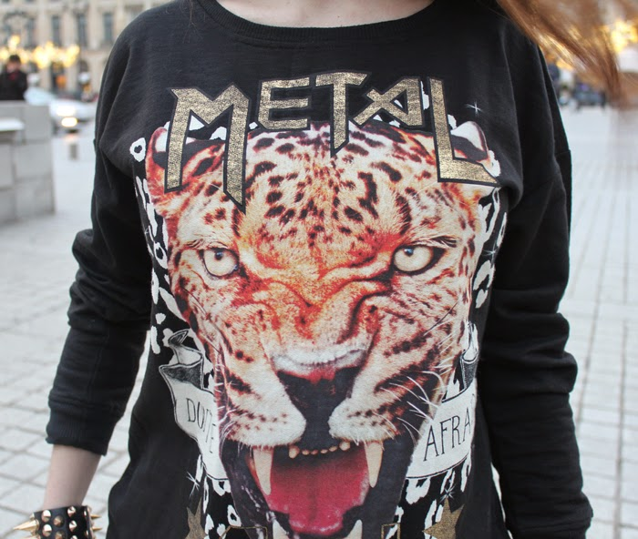 fashion blog, fashion blogger, sweatshirt , tiger print, sudadera, tigre