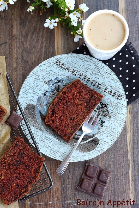 Dyniowe ciasto czekoladowe