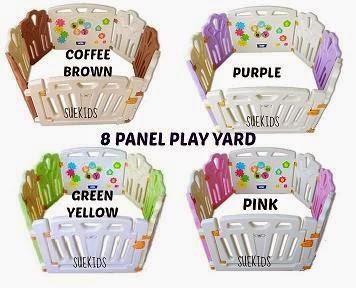 8 PANEL KID'S PLAY YARD