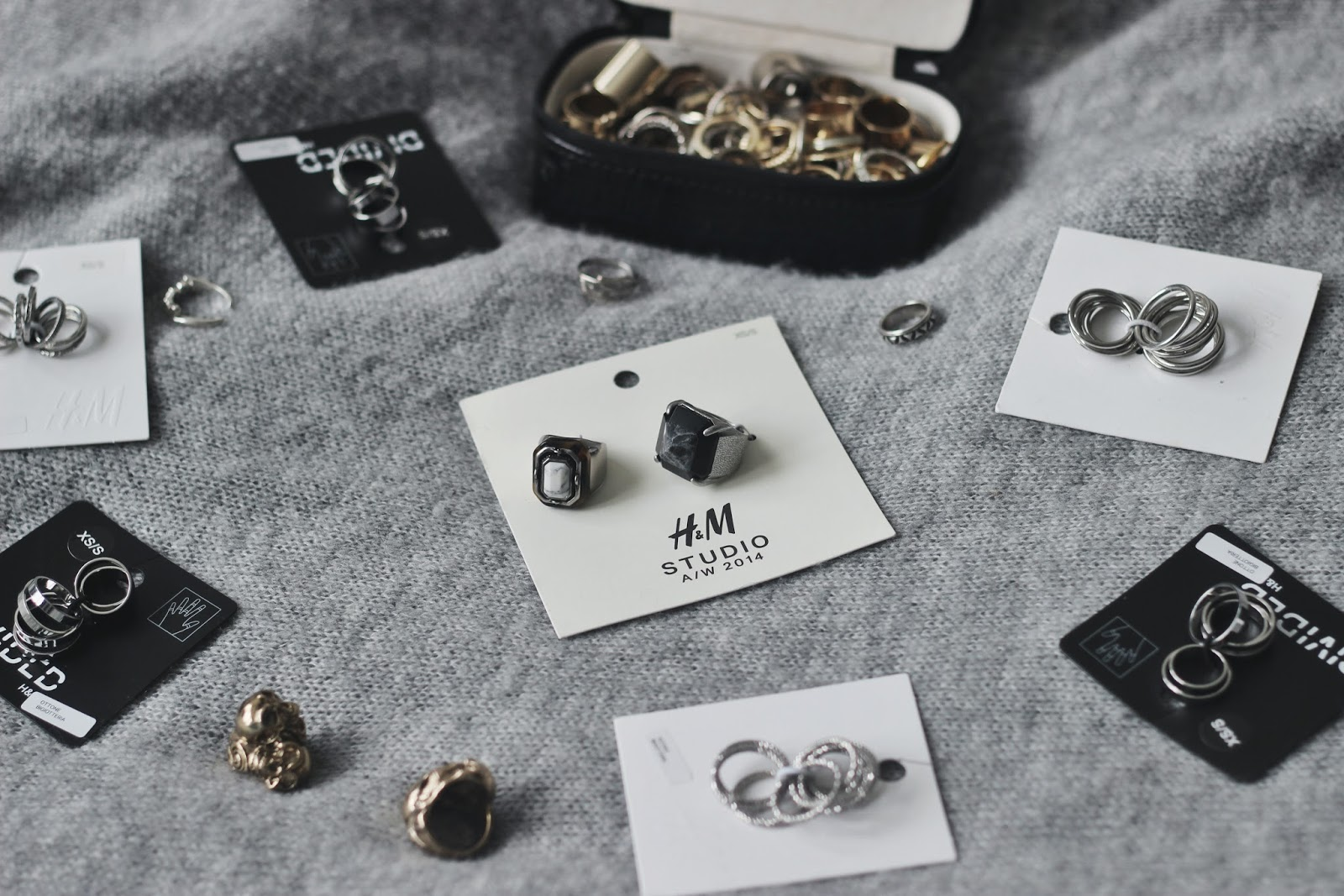 H&M ring collection