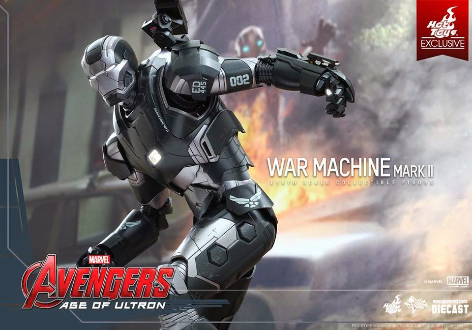 war machine mark II action figure
