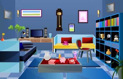 Modern Study Room Escape