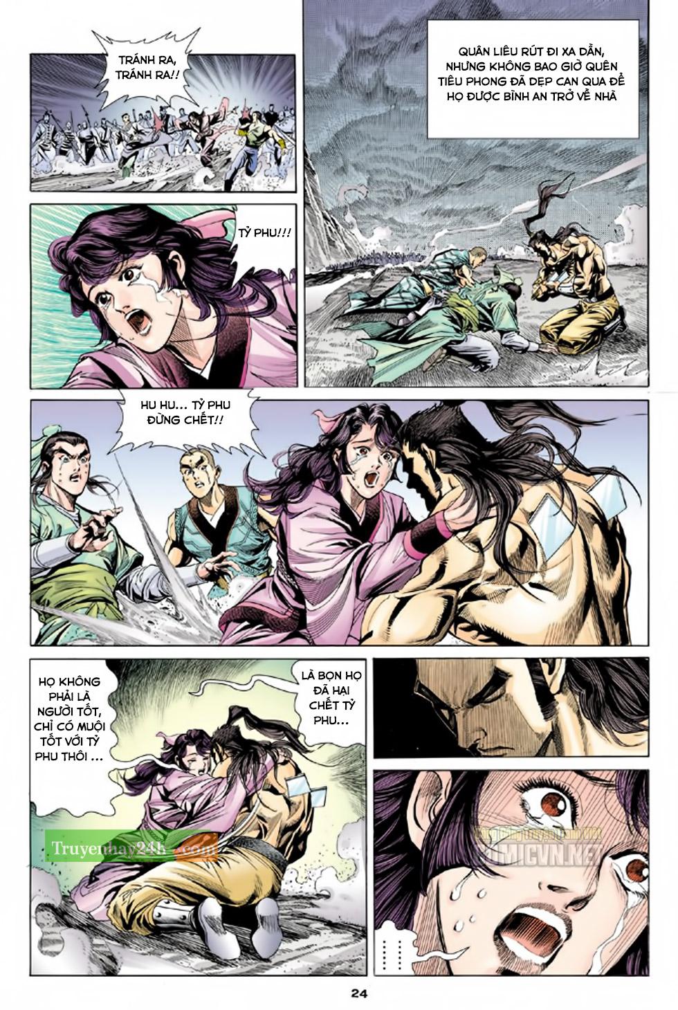 Thiên Long Bát Bộ chap 100 - Trang 25