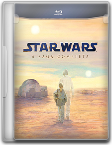 Star Wars: A Saga Completa - BluRay 720p - Dual Áudio