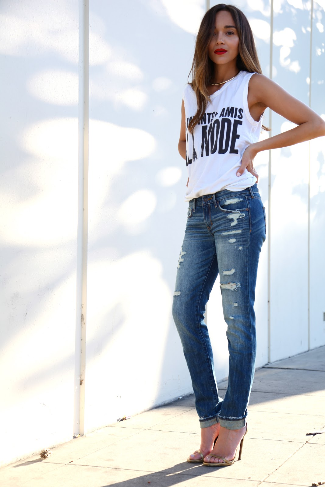 Ring my bell denim day for Jeans t shirt style