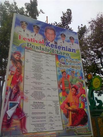 Jadwal Festival Kesenian Pesisir Utara (FKPU) 2013 di Tuban