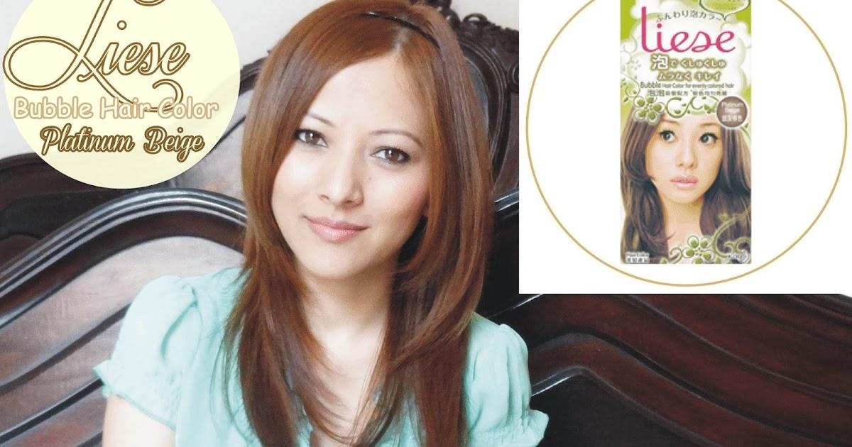 Indian Vanity Case Liese Bubble Hair Color Platinum Beige