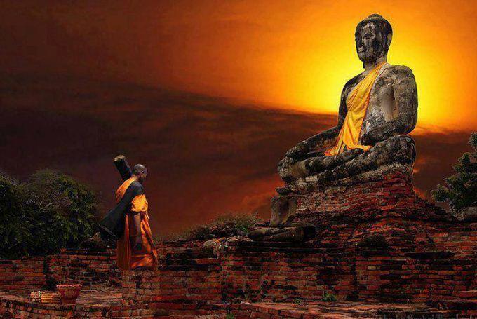 Buddhist Monk Wallpaper