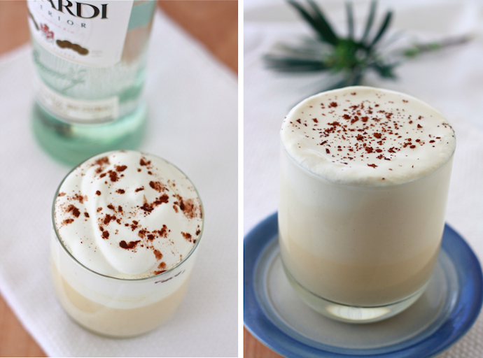 Image result for Steps to prepare eggnog with alcohol