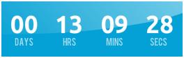 Membuat Countdown Timer Tahun Baru 2014 dengan JavaScript di Blog Krizeer