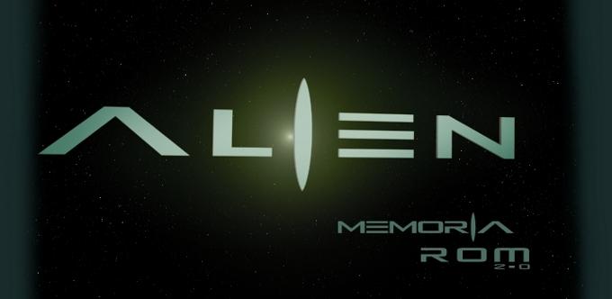 alien rom memory