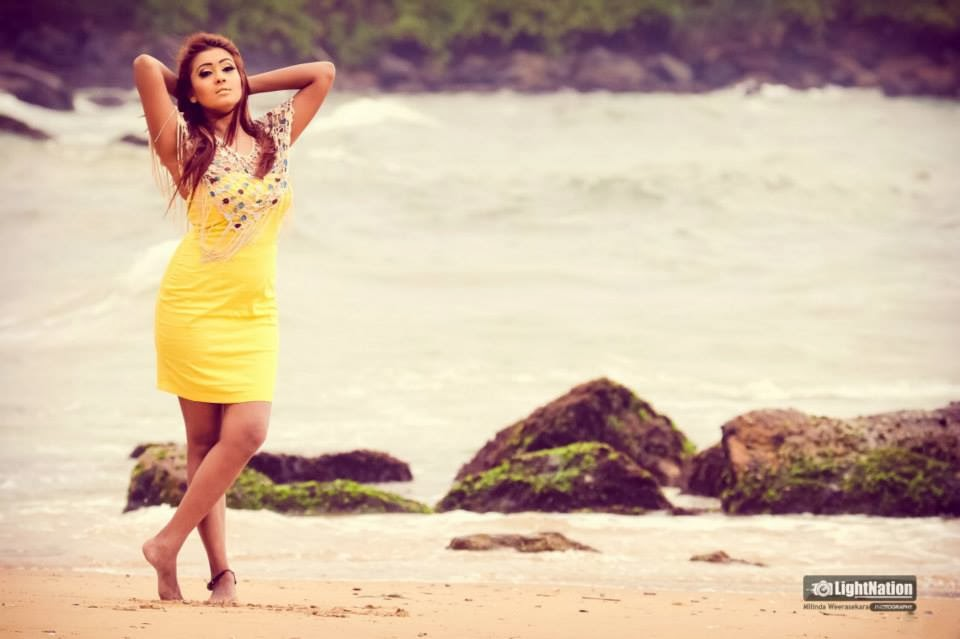Fallon Michelle in beach