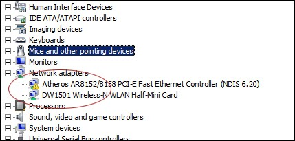 atheros ethernet controller driver windows 7 64 bit
