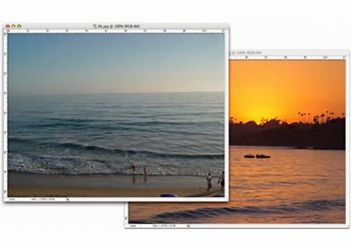 A Sunset Effect in Photoshop Tutorial