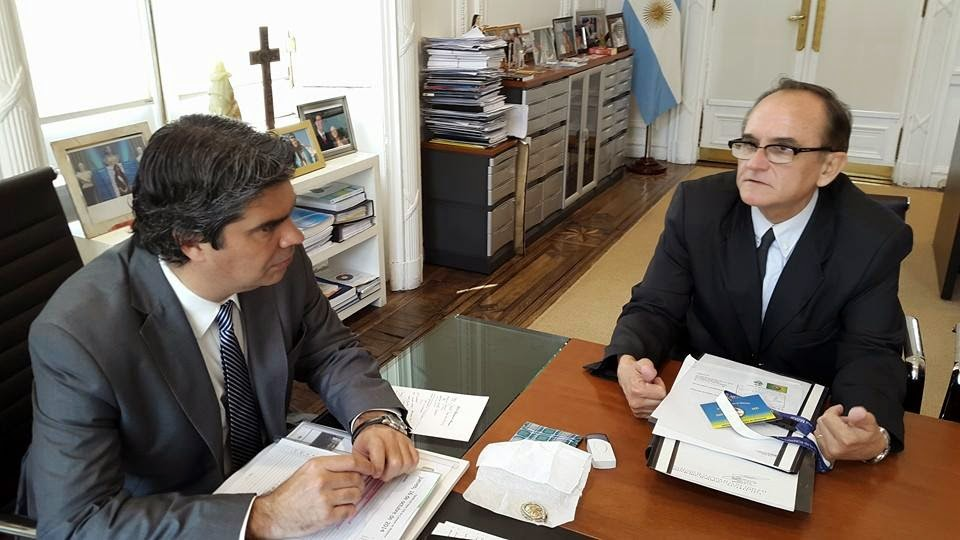 Nogueira trajo el compromiso de Capitanich para proyectos por más de 2 millones de pesos