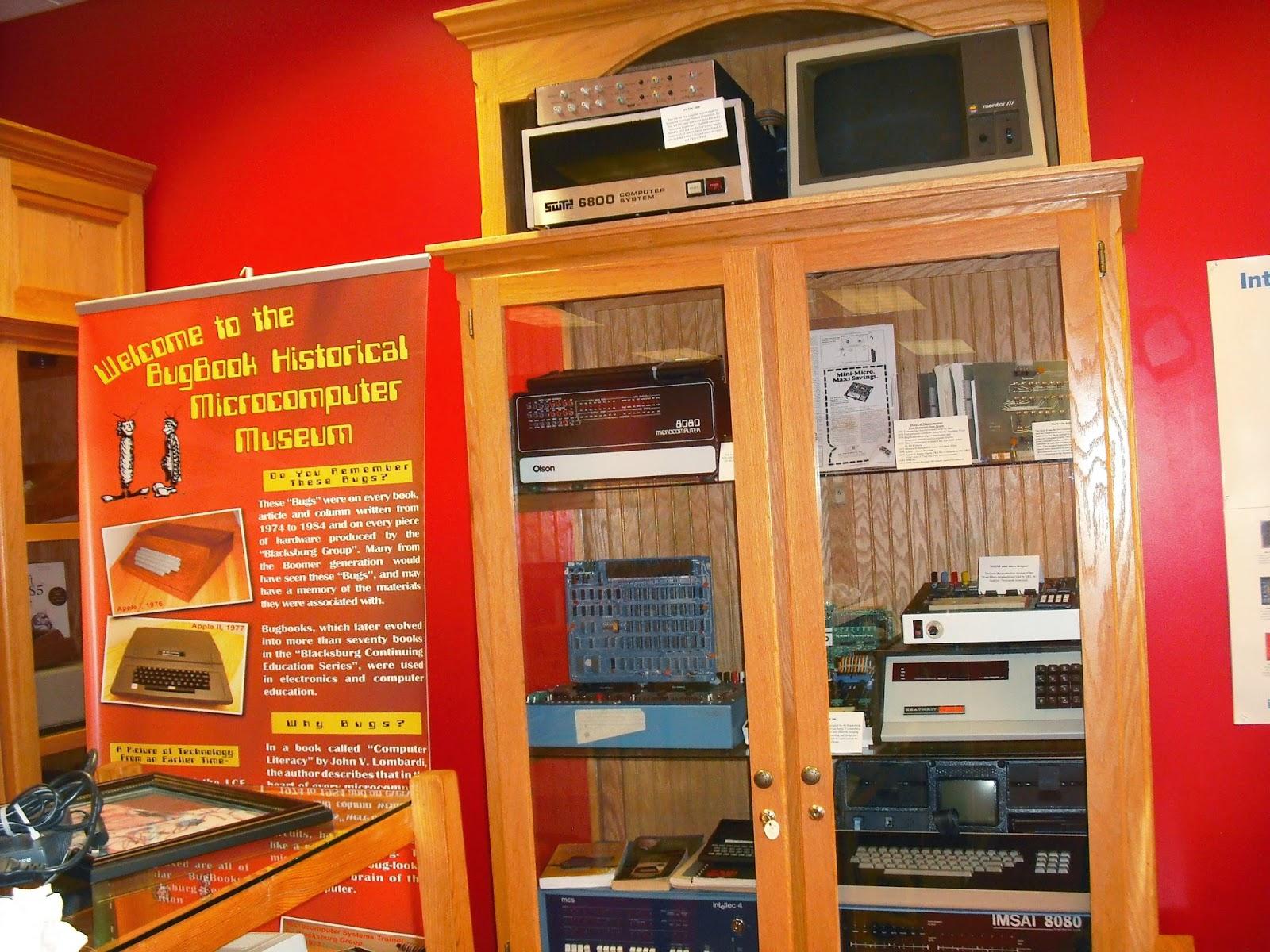 Computer Museum display