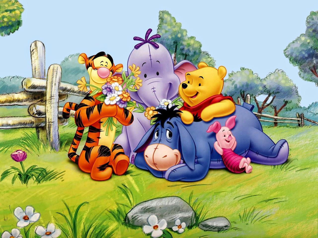 Imagenes de Winnie Pooh y Sus Amigos | Imágenes y Postales