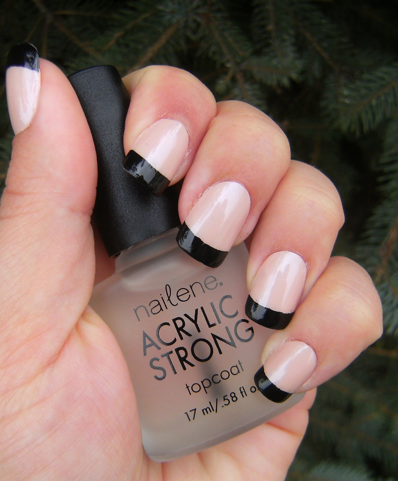 ♥ Black Tips - French Manicure week @ Deez-Nailz ♥ - Make Beauty Nails