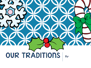 http://www.teacherspayteachers.com/Product/Family-Traditions-Class-Book-Pages-994885