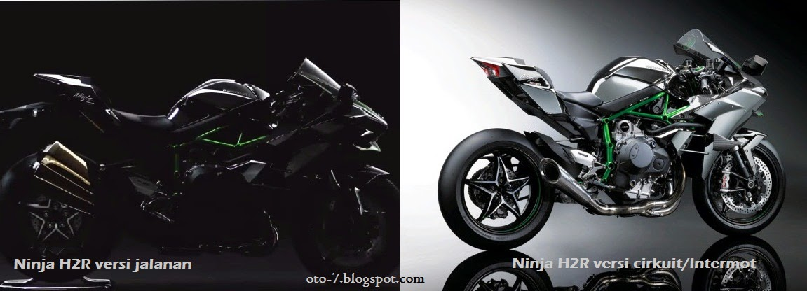 Kawasaki Nnja H2R jalanan dan sirkuit
