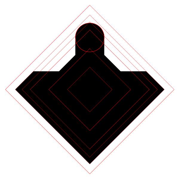 Lt Blak Logo adding geometry