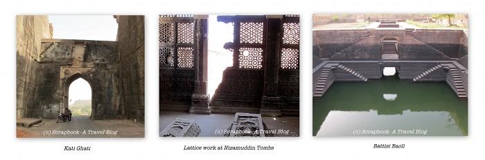 kati ghati nizamuddin tomb battisi baoli