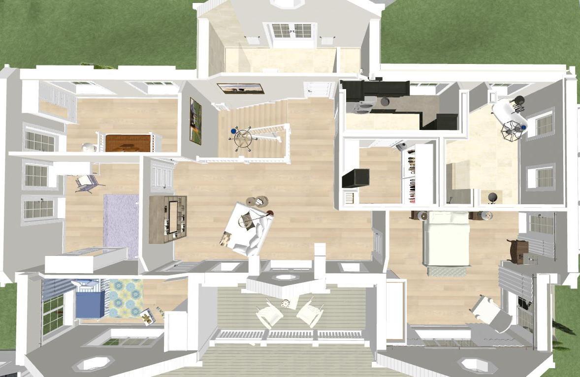 Den vita drömgården: ett nytt new england hus i djursholm
