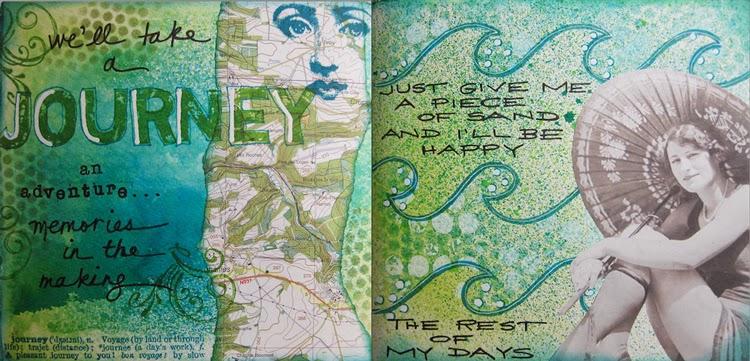 My collage art nancy lefko for Portent of restoration 3