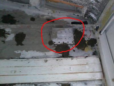 Крепление для потолка на балконе