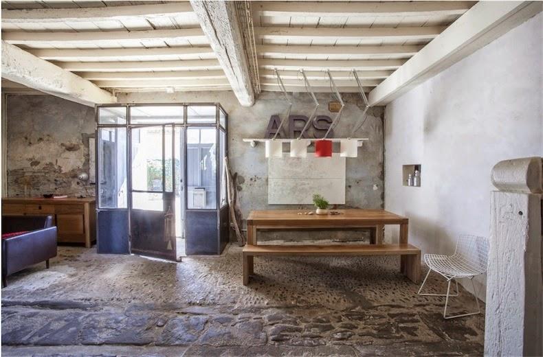 Una casa de campo de estilo provenzal actual a current provencal country house - Casas en la provenza ...