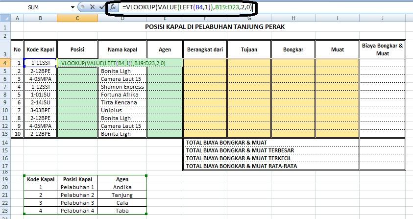Excel Gabungan Fungsi Lookup Dan Left Mid Right Blog Saling Berbagi Informasi