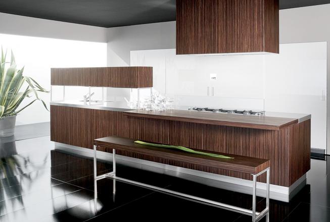 Materiales para cocinas iii maderas c lidas e for Muebles de cocina en madera de pino
