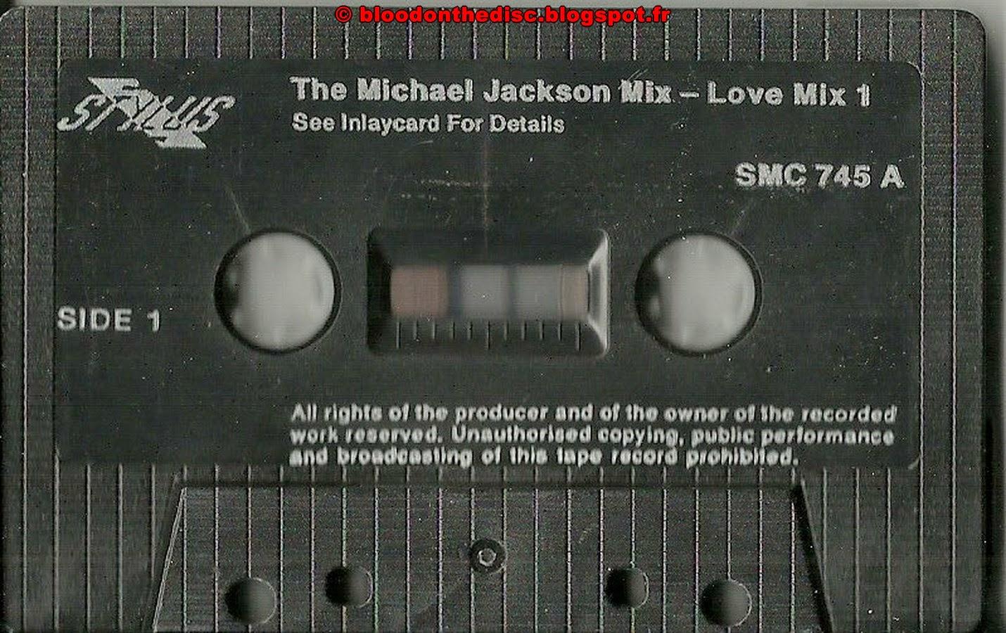 Michael Jackson Love Mix K7