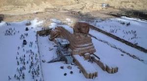 Salju, Mesir
