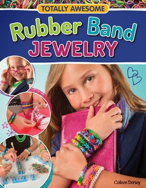 Totally Awesome Rubber Band Jewelry - Great instruction book