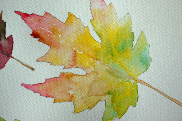 Autumn Leaves Painting Painting of Fall Leaves