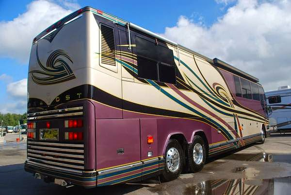 Used Rvs 2000 Prevost Featherlite Vantare Bus For Sale By