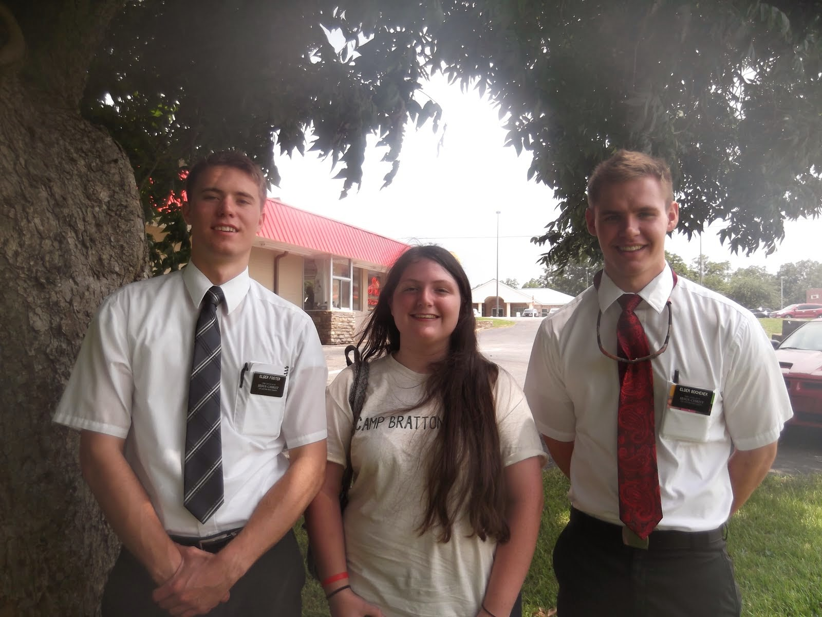 Kelsey Stone with Brendon & Elder Bochenek