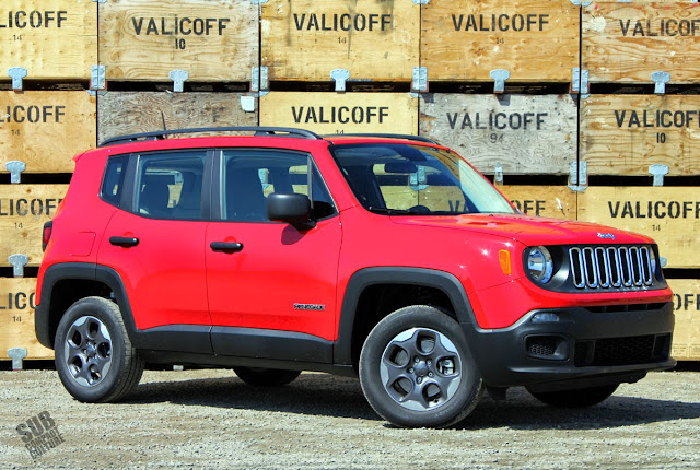 Colorado Red Jeep Renegade Sport