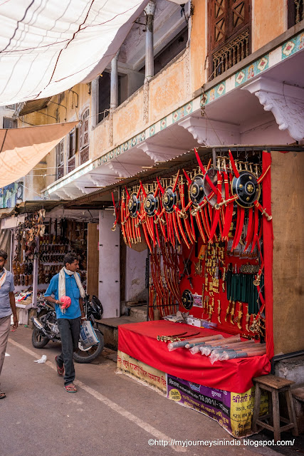 Shops at Pushkar