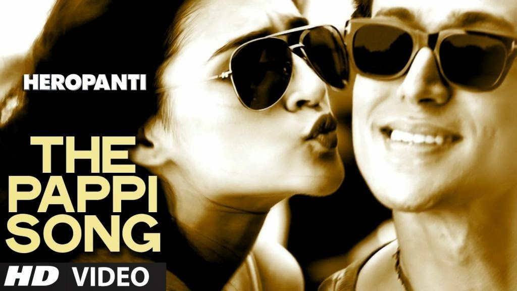 The Pappi Song - Heropanti (2014) Full Music Video Song Free Download And Watch Online at worldfree4u.com