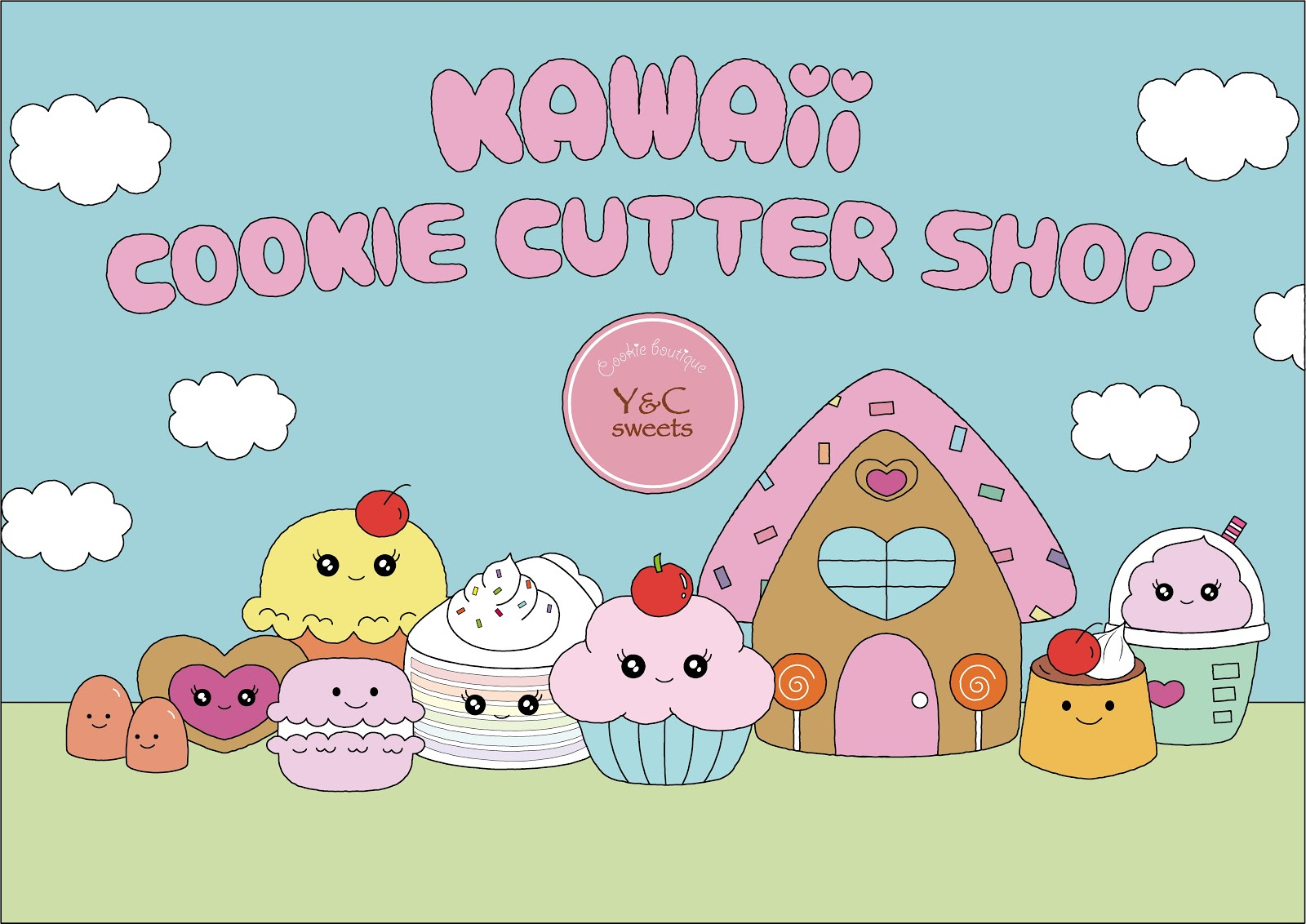 """Kawaii cookie cutter shop"" Now open!!"