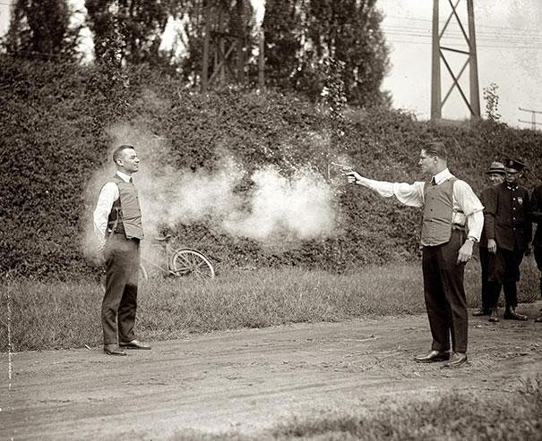 Testing Bullet proof vests