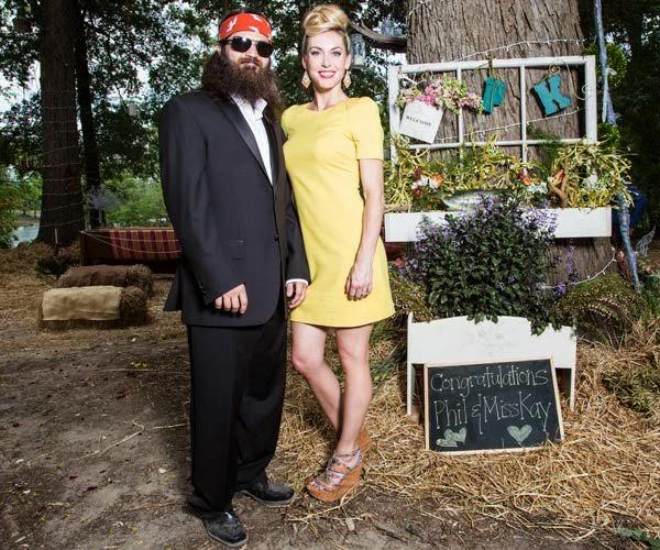 Phil and Kay Robertson Wedding